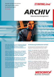 Cover WINLine-Archivierung