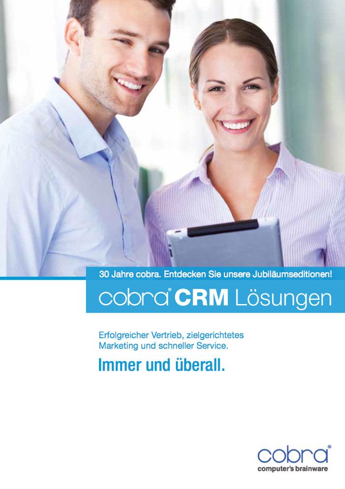 Cover Prospekt cobra CRM